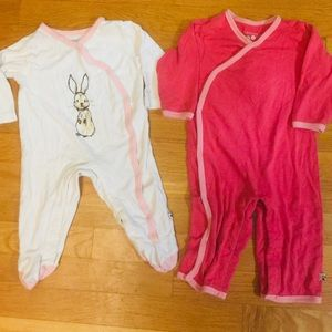 Baby soy 6-12 lot sleepers pajamas rompers bunny
